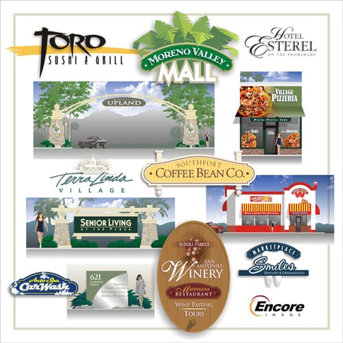 Custom business and commercial signage