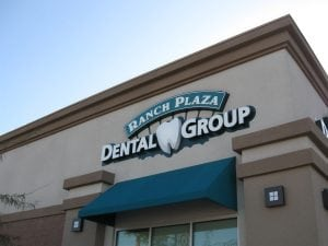 Building Sign, Las Vegas NV | Ranch Plaza Dental Group