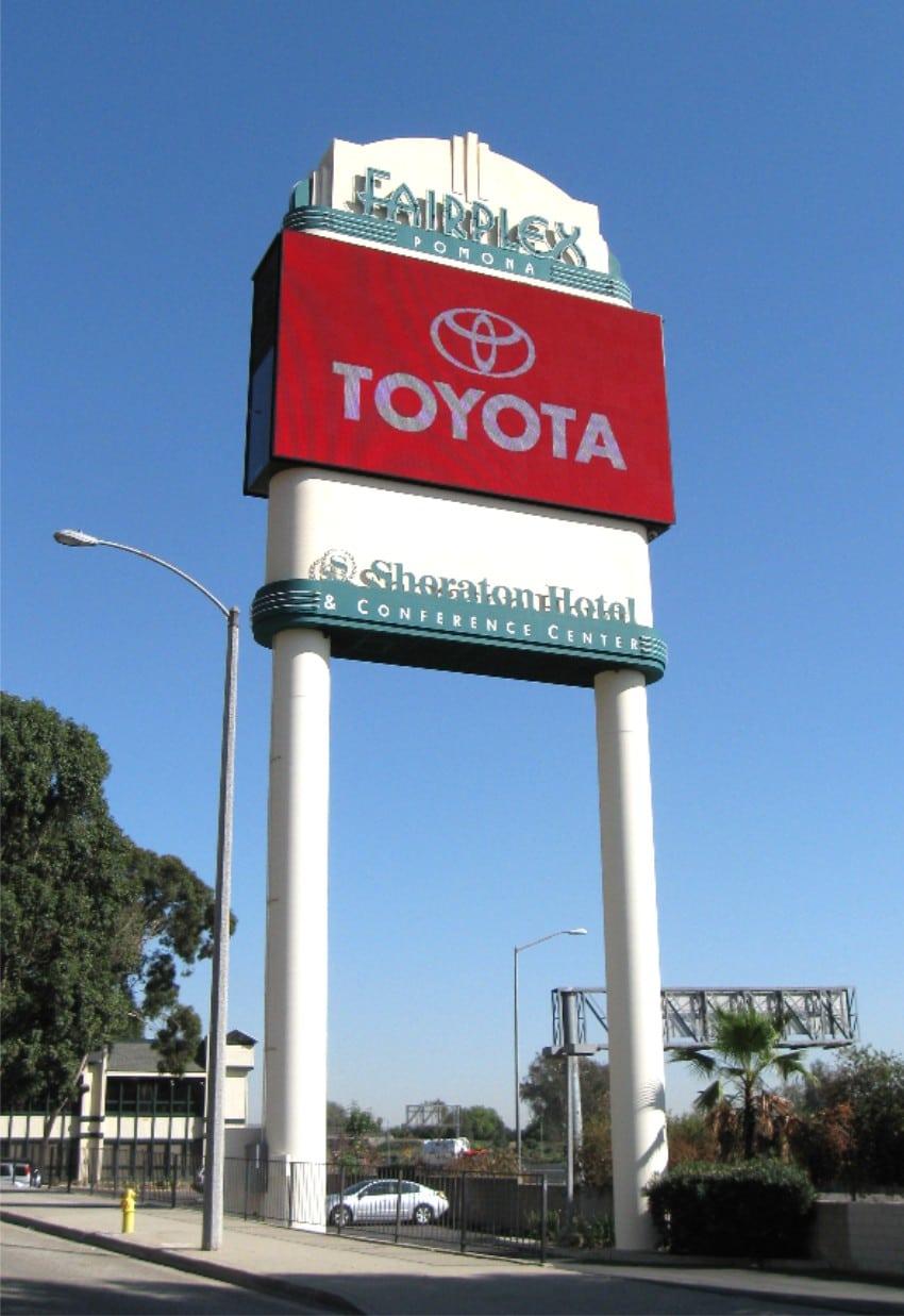 Pylon Signs Los Angeles Ca Encore Image
