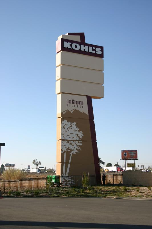 Pylon Sign | Banning, CA | Kohl's